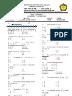 2011test Chapter 1, Integer & Fraction