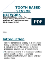 A BLUETOOTH BASED SMART SENSOR NETWORK
