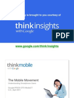 2011 Google IPSOS Report The Mobile Movement