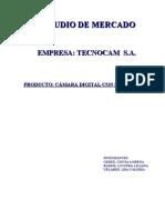 Estudio de Mercado Camara Digital Con Bluetooth