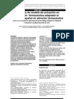 Modelo de Consulta Farmaceutica Espanha
