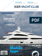 Sunseeker Yacht Club magazine - Yacht Brokerage and Charter - September 2011 issue