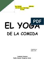 El Yoga de La Comida