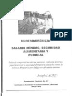 Salario mínimo Centroamerica