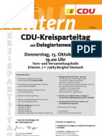 CDU intern September 2011