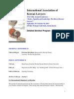 IAKL_Seminar Schedule 2011 (Final)