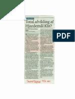 Total afvikling af Hjardemål Klit  TD 16.09.2011