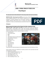 Snack Food in China Report