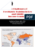The Psychiatric Training in LAMIC Countries