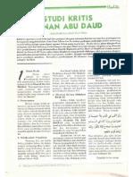 Studi Kritis Sunan Abi Dawud