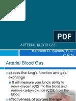Arterial Blood GAS