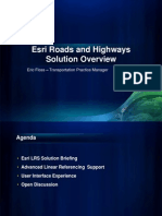 2011-09_Esri Roads and Highways Briefing