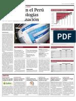 Crece uso en el Perú de las tecnologías de la información