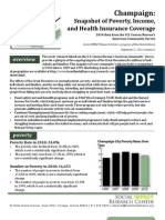 Champaign City Fact Sheet