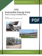 Clark County Biomass Feasibility Study