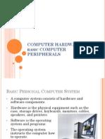 Basic Computer Peripherals