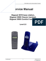 11-09-23 Service Manual Gigaset 3010 Base, 3000 Classic & Comfort