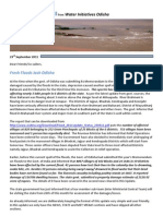 Flood Update VIII From WIO - 23rd September 2011
