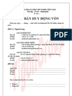 Bien Ban Huy Dong Von