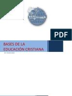 -Bases de la educación cristiana -