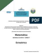 Material de Apoyo curso 7 Matemática