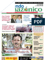 Periódico Mundo Amazónico Edición No. 58 Ago. - Sep. / 2011