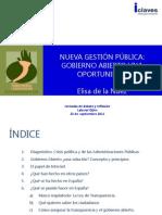 Ponencia de Elisa de la Nuez - Jornadas Transparencia y Participación Laboral 2011