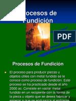 02 Procesos de Fundición