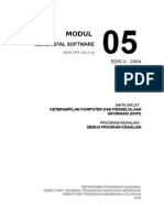 Modul 05 KKPI - Menginstalasi Software