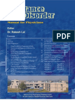 Substance Use Disorder - Manual for Physicians