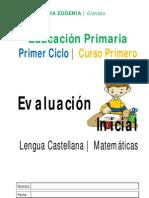 CUADERNILLO EVALUACIÓN INICIAL CICLO 1