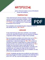 Imcubação-ARTIFICIAL