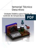 Memorial Técnico Descritivo planta temperatura TL 130511