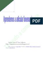 Articulación de fonemas laterales