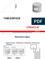 5. Table Space Oracle