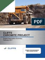 CliffsChromite Booklet