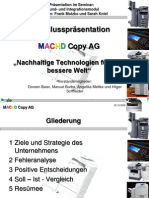 Präsentation im Grundmodul zu TopSim II General Management