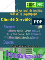 Manual de Python Con Db2