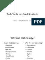 Tech Tools for Grad Students