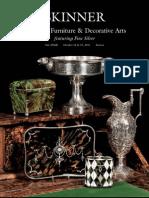 European Furniture & Decorative Arts featuring Silver   Skinner Auction 2566B