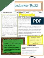 4th Grade Newsletter 92311