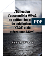 Obligation de Faire Hijra