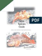 Mini Species Book