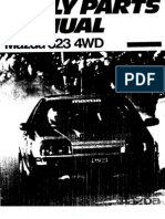 Complete 1988 Mazda 323 Rally Parts Manual