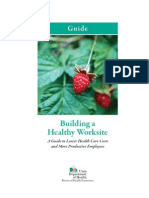 Building a Healthy Worksite Toolkit