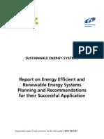 Report on Energ Efficient