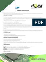 Carta de Garantia PC