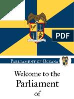 Parliament of Oceana Welcome Presentation
