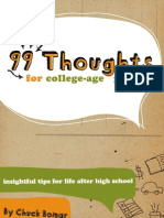 99 Thoughts for College-Aged People