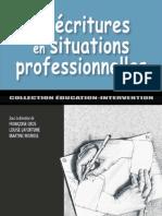 Les ecritures en situations professionnelle (IHCN) bibliothèque numérique Algérie